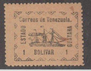 Venezuela - Guayana Local Scott #5 Stamp - Mint NH Single
