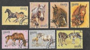 Krygystan SC 72-78 * Horses * CTO * 1995