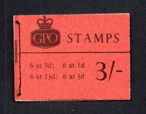 3/- BOOKLET MAY 1965 Cat £60