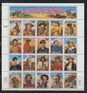United States  SC  2869 Full Sheet