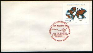 MEXICO 1553 FDC Joint Oceanographic Assembly