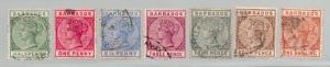 Barbados - SG# 89 - 91, 93, 96 - 98, 102 Used /  Lot 0618061