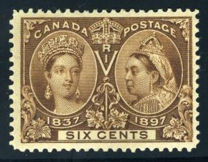 CANADA SCOTT# 55 SG# 129 MINT HINGED AS SHOWN