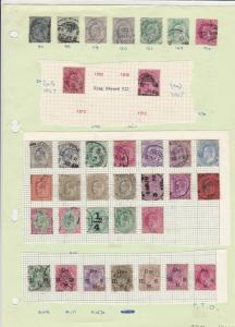 India Stamps Page  Ref 33200