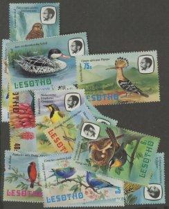 Lesotho 321-4 * mint LH bird (2107 347)