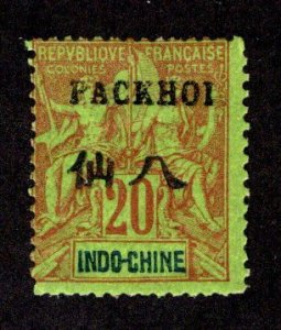 FRANCE - OFFICES IN CHINA - PAKHOI SC# 7  AVF/MOG  1903