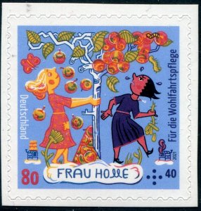 2021 Germany Frau Holle Grimms Fairy tales SA Bklt (Scott NA) MNH