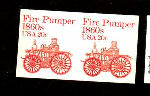 1908a MINT Imperf Pair VF NH Cat $75