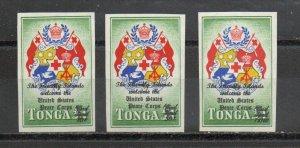 Tonga CO12-CO14 MNH