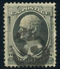 US Scott #165 Used, VF