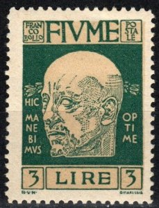 Fiume #97 F-VF Unused CV $20.00 (X2027)