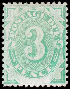 Australia Scott J4, perf. 12x11.5 (1902) Mint H F-VF, CV $52.50 M