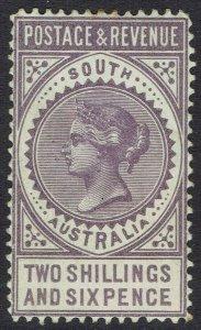 SOUTH AUSTRALIA 1886 QV POSTAGE & REVENUE 2/6 PERF 11.5-12.5