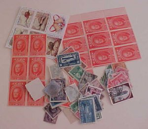 CUBA  STAMPS 95 MOSLTY DIFFERENT FROM 1870's USED /MINT