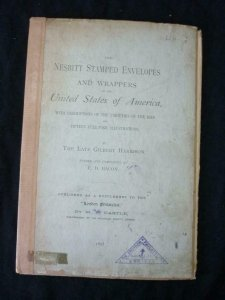 THE NESBITT STAMPED ENVELOPES & WRAPPERS OF THE USA by HARRISON & BACON
