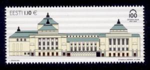 Estonia Sc# 737 MNH Estonia Theater Building Centenary