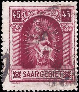 Saar 1925 Sc 118 uf