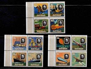 Cook Islands Scott 514-516 Sir Rowland Hill MNH** set