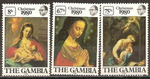 Gambia #417-9 Mint Never Hinged F-VF (ST646L)