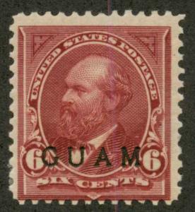 Guam 6 Mint F H