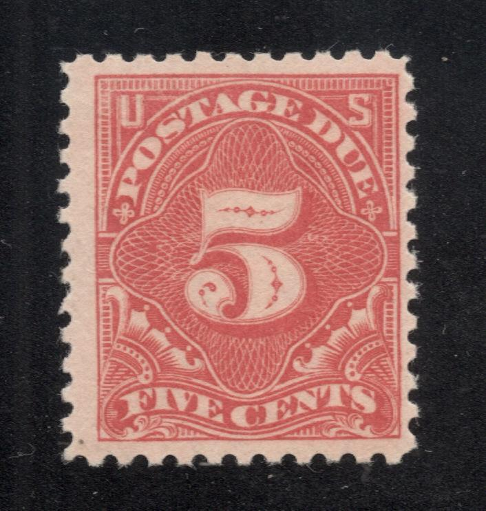 US# J64a - Rose Red - Postage Due - O.G. - N.H.
