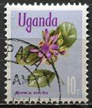Uganda 1969: Sc. # 116: O/Used CTO Single Stamp