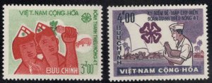 South Vietnam Scott 270-271 MNH** Young Farmers my best set