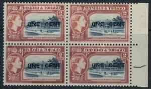 Trinidad & Tobago #85* NH  Block of 4  CV $6.40