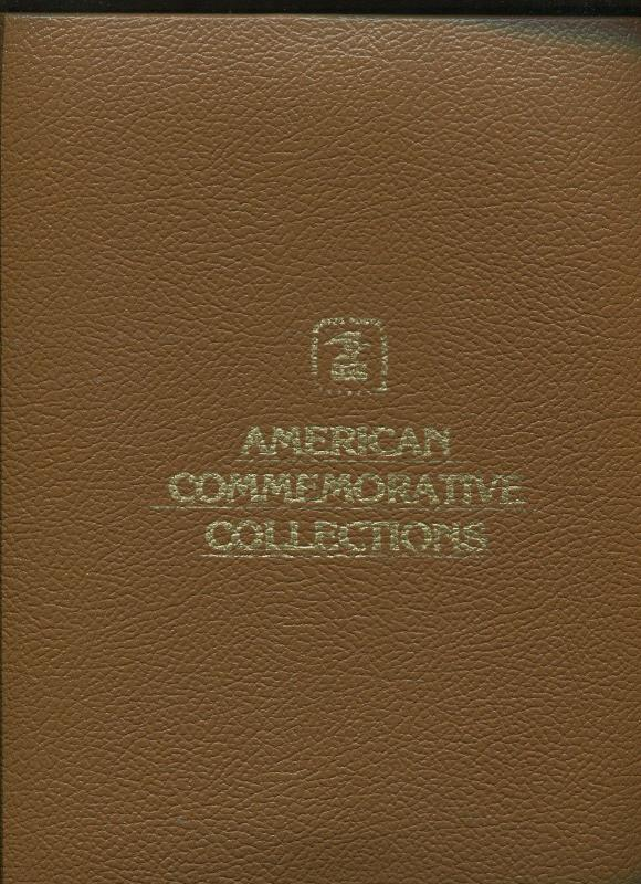 QTY 2, American Commemorative Binder with 20 myllar inserts  j311
