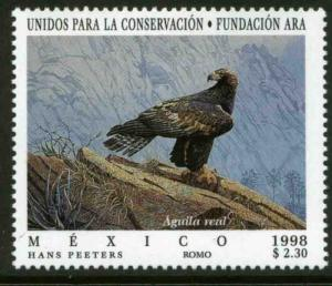 MEXICO 2100, United for Conservation Aguila Real MINT, NH. VF. (69)