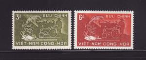 South Vietnam 114-115 MNH Farming