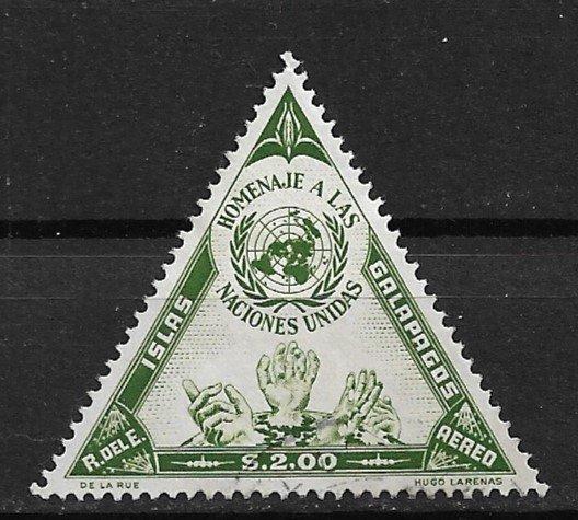 1959 Galapagos Sc LC4 $2. UN Emblem used.