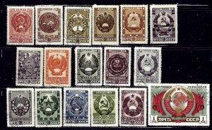 Russia 1104-20 CTO 1947 ser    (ap1965)