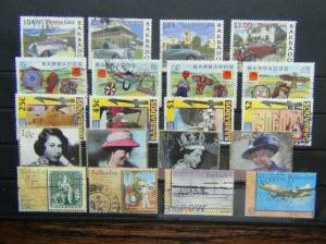 Barbados 2000 Cars 2001 Exhibition Independence 2002 Jubilee Postal Service Used