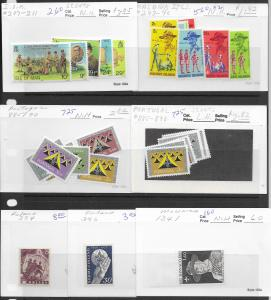 Worldwide selection of 17 diff. Scout sets, MNH & LH,see desc. 2019 CV $88.35