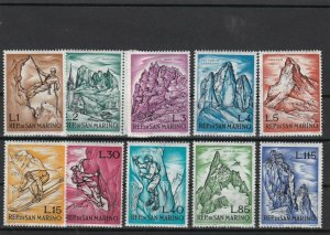 Republic of San Marino Mint Never Hinged Stamps Ref 23827