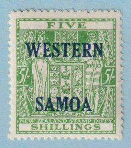 WESTERN SAMOA  216  MINT HINGED OG * NO FAULTS EXTRA FINE!
