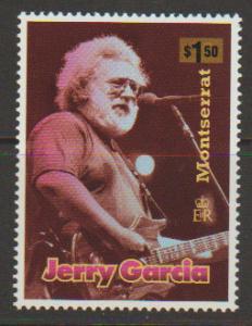 Montserrat SG 1060   MLH -Jerry Garcia