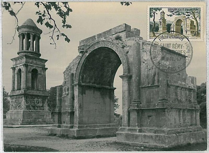 32278  MAXIMUM CARD - Architecture : FRANCE 1957