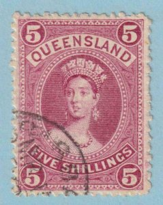 QUEENSLAND 81  USED - NO FAULTS EXTRA FINE!