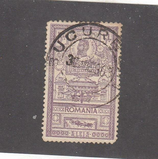 ROMANIA # 172a VF-LIGHT USED CAT VALUE $30+