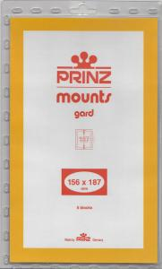 PRINZ CLEAR MOUNTS 156X187 (5) RETAIL PRICE $10.50