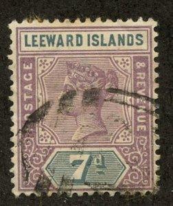 Leeward Isl, Scott #6, Used