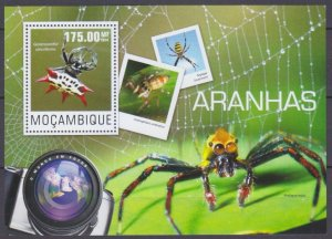 2014 Mozambique 7564/B952 Insects - Spiders 10,00 €