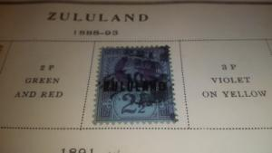 Mini Collection Of Zululand 8 Different Mint And Used 19.95
