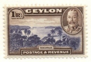 CEYLON #274, Mint Hinged, Scott $35.00