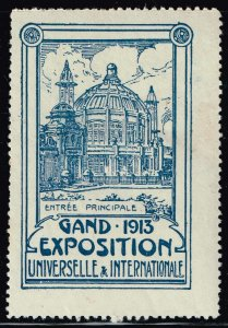 World Exhibition, Convention, Stamp Show, Poster, Label stamp Collection LOT #B2