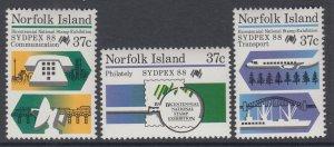 Norfolk Island 4437-439 MNH VF