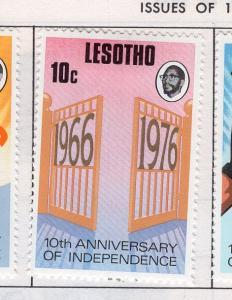 Lesotho MH Scott Cat. # 214