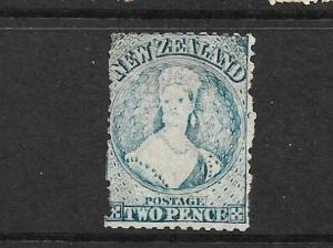 NEW ZEALAND 1864-67  2d  BLUE   FFQ  MNG  P12 1/2   CP A2M   SG 113 CHALON